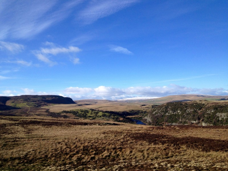 View towards Cronkley Fell