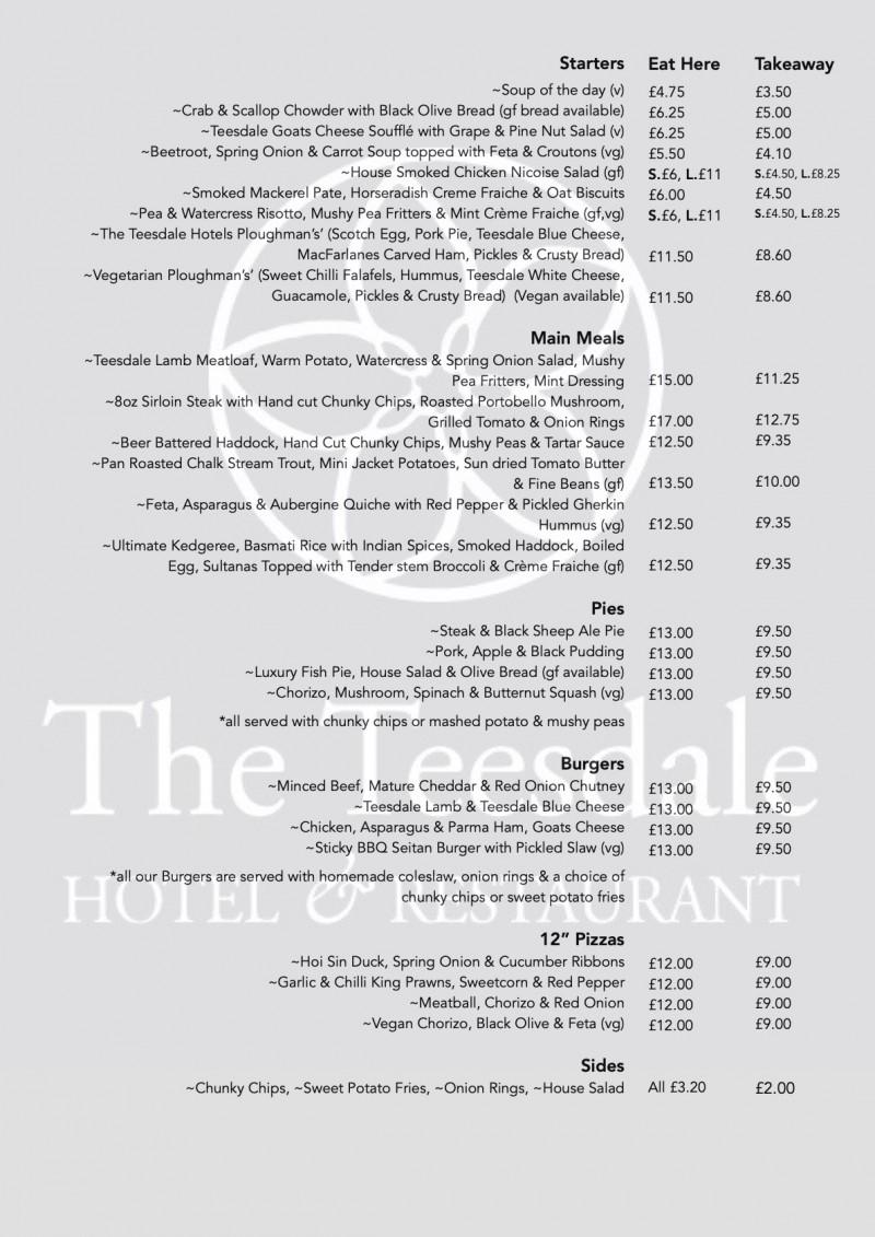 summer menu '21
